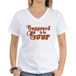 Supposed to be Sour Women's V-Neck T-Shirt