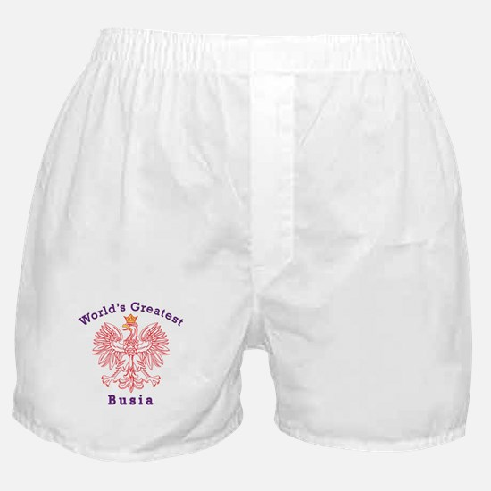 World's Greatest Busia Red Eagle Boxer Shorts