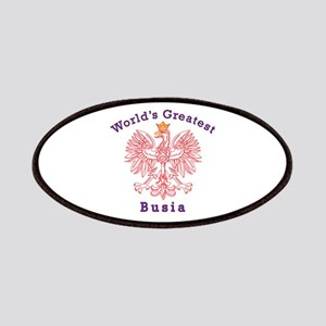 World's Greatest Busia Red Eagle Patches