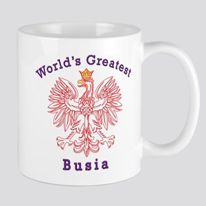 World's Greatest Busia Red Eagle Mug