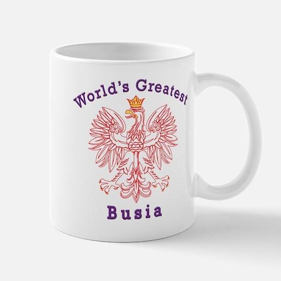 World's Greatest Busia Red Eagle Mug