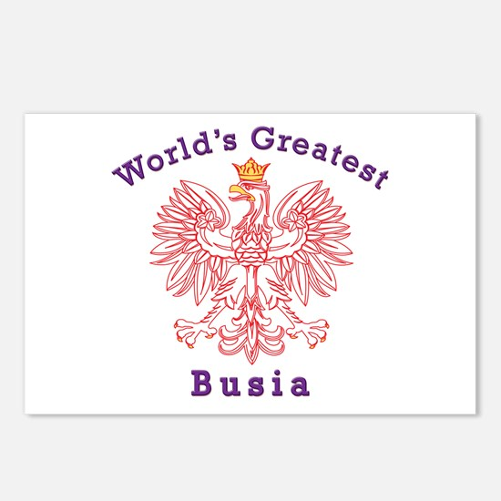 World's Greatest Busia Red Eagle Postcards (Packag