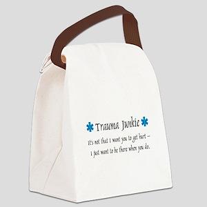 Traumajunkie Canvas Lunch Bag