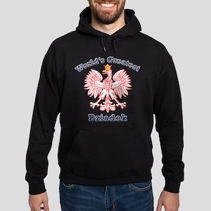 World's Greatest Dziadek Red Eagle Hoodie (dark)