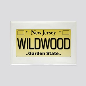 Wildwood NJ Tagwear Rectangle Magnet