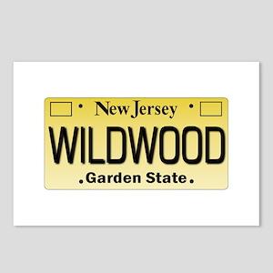 Wildwood NJ Tagwear Postcards (Package of 8)