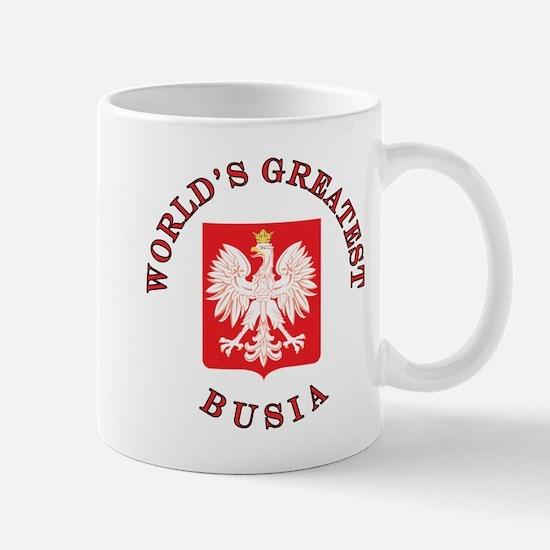World's Greatest Busia Crest Mug