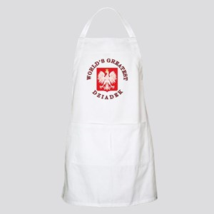 World's Greatest Dziadek Crest Apron