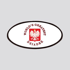 World's Greatest Dziadek Crest Patches