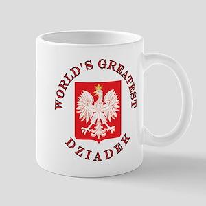 World's Greatest Dziadek Crest Mug