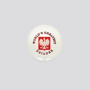 World's Greatest Dziadek Crest Mini Button