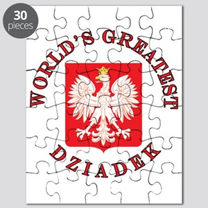 World's Greatest Dziadek Crest Puzzle