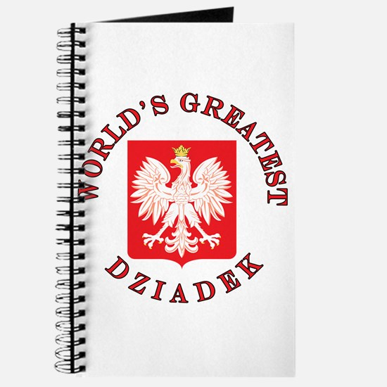 World's Greatest Dziadek Crest Journal