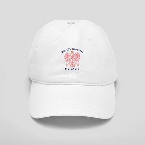 World's Greatest Dziadzia Crest Cap