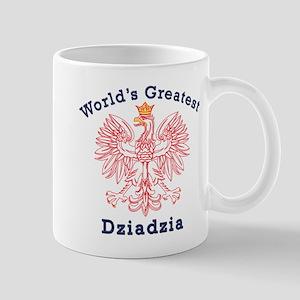 World's Greatest Dziadzia Crest Mug