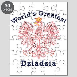 World's Greatest Dziadzia Crest Puzzle