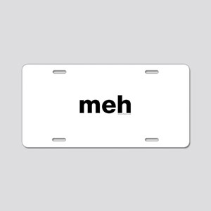 meh Aluminum License Plate