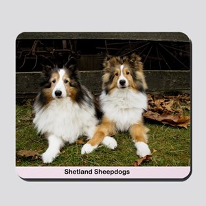 Shetland Sheepdogs Mousepad