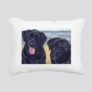 ParkerDixieArt Rectangular Canvas Pillow