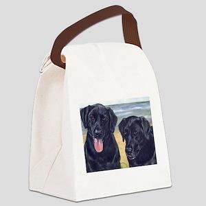 ParkerDixieArt Canvas Lunch Bag