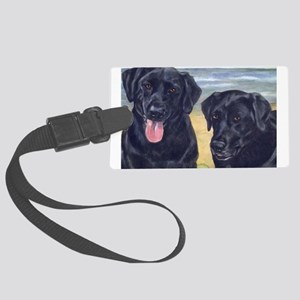 ParkerDixieArt Large Luggage Tag
