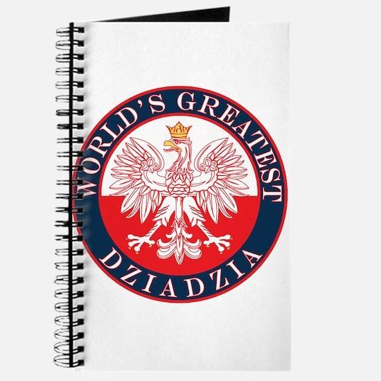Round World's Greatest Dziadzia Journal