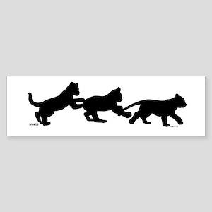 lion cub shapes Sticker (Bumper)