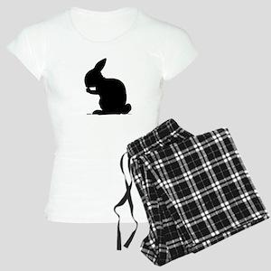 Bunny shape Women's Light Pajamas