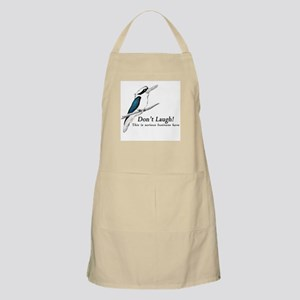 Don't Laugh Kookaburra Apron