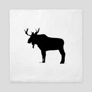 Moose shape Queen Duvet