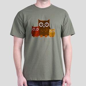 Owls Dark T-Shirt