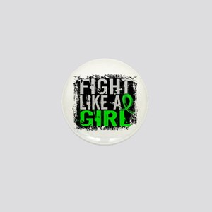 Licensed Fight Like a Girl 31.8 Lympho Mini Button