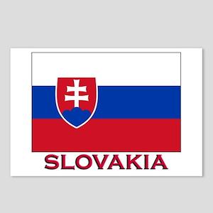 Slovakia Flag Stuff Postcards (Package of 8)