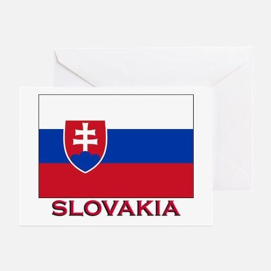 Slovakia Flag Stuff Greeting Cards (Pk of 10)