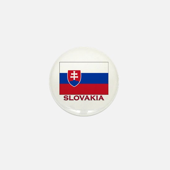 Slovakia Flag Stuff Mini Button