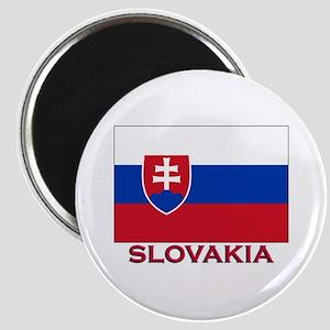 Slovakia Flag Stuff Magnet