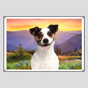 Jack Russell Meadow Banner