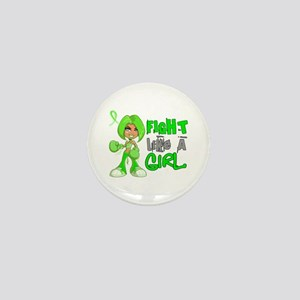 Licensed Fight Like a Girl 42.8 Lympho Mini Button