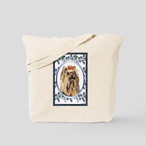Yorkie Designer 1 Tote Bag