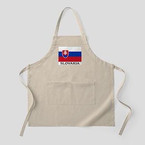 Slovakia Flag Merchandise BBQ Apron