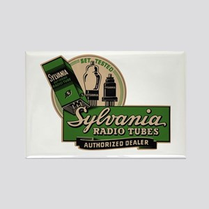 Sylvania Radio Tubes Rectangle Magnet