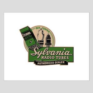 Sylvania Radio Tubes Small Poster