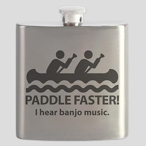 PaddleFasterIHearBanjoMusic Flask