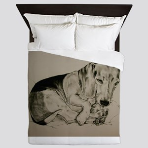 Beagle Queen Duvet