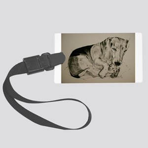 Beagle Large Luggage Tag