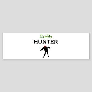 Zombie Hunter Sticker (Bumper)