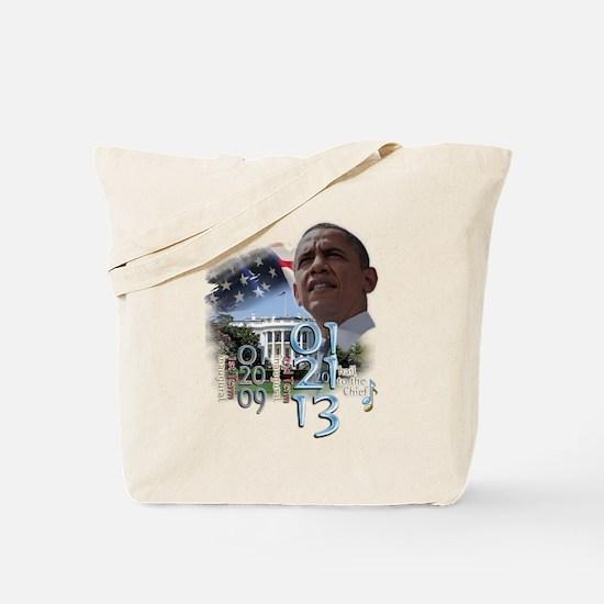 Obama's 2 Terms: Tote Bag