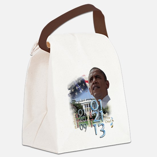 Obama's 2 Terms: Canvas Lunch Bag