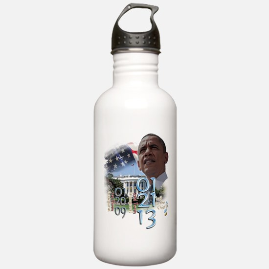 Obama's 2 Terms: Water Bottle