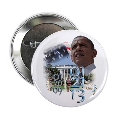 "Obama's 2 Terms: 2.25"" Button"